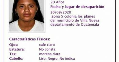 Family and friends request help to locate the national soccer team, Karen Elizabeth Barrera Turcios, 20 years old