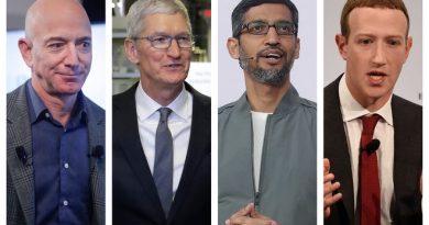Big Tech restraints : Facebook, Amazon, Google and Apple refute House Judiciary report