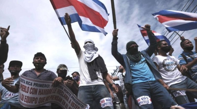 The protests in Costa Rica that shake the country, an example of stability in Central America