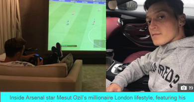 LAND OF OZ Inside Arsenal star Mesut Ozil's millionaire London lifestyle, featuring his £10m home and favourite Turkish restaurant