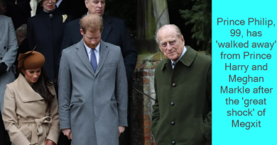 Royal expert claims: Prince Philip, 99, has 'walked away' from Prince Harry and Meghan Markle after the 'great shock' of Megxit and his grandson's 'alien behaviour'