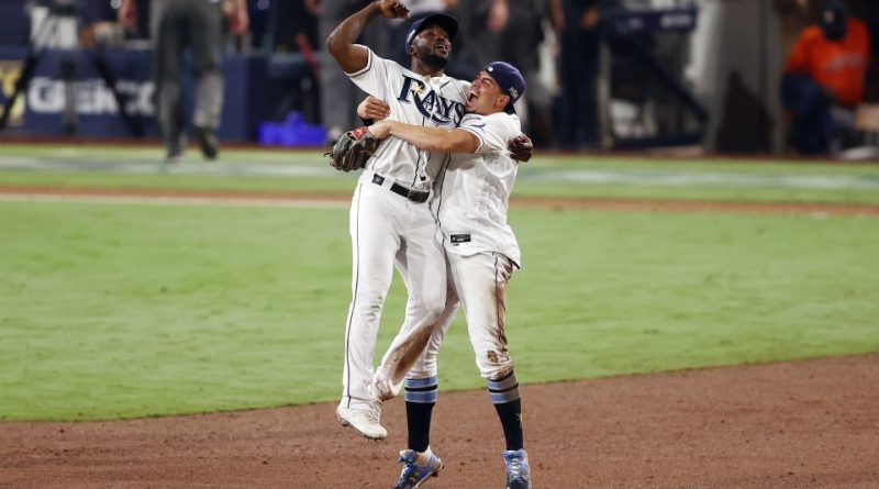 Rays Beat Astros In Game Seven To Advance To World Series