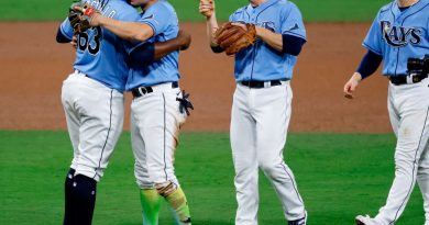 Rays hits Astros and starts the series with victory