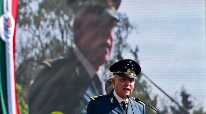 Mexican Ex-Defense Minister Charged With Helping Cartel Ship Drugs