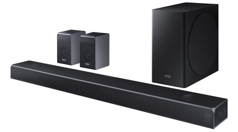 Samsung's compact new HW-Q800T soundbar :  SLIM NEW DOLBY ATMOS SOUNDBAR PACKS A POWERFUL PUNCH