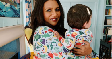 'This is news to a lot of people!' Mindy Kaling reveals she gave birth to a boy last month