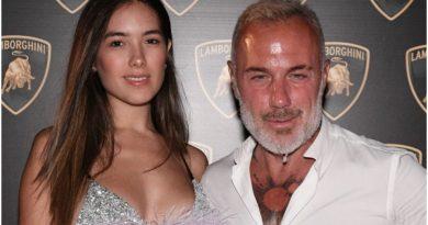 Thus began the love story between Gianluca Vacchi and Sharon Fonseca