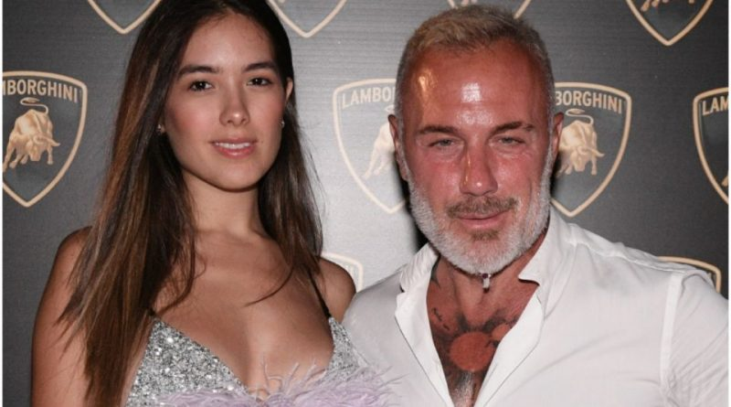 Thus began the love story between Gianluca Vacchi and Sharon Fonseca