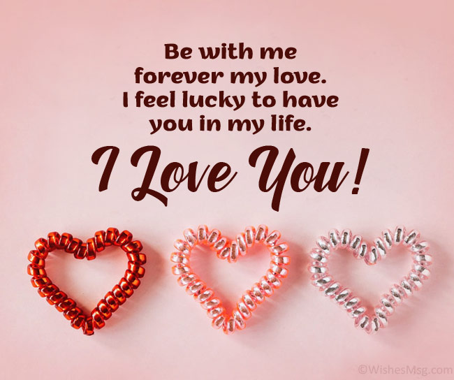 love msg for gf