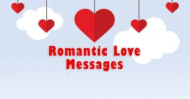 Romantic Love Messages For Him and Her – WishesMsg