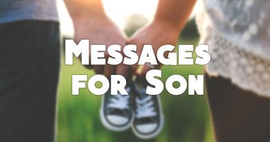 Messages For Son – Caring, Lovely and Inspiring Messages – WishesMsg
