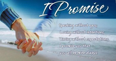 Love Promise Messages For Her and Him – WishesMsg
