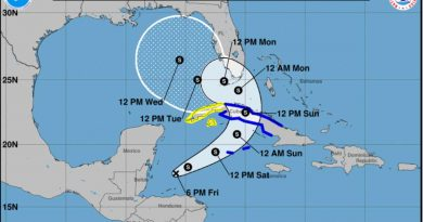 Tropical depression Eta may reorganize towards Cuba and the United States