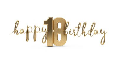 Happy 18th Birthday Messages with Images – Birthday Wishes and Messages .