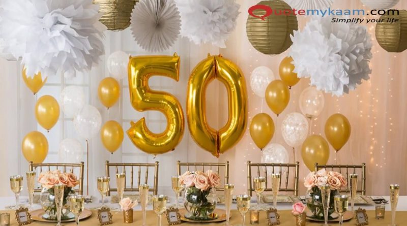 The 50 Best 50th Birthday Party Ideas and Themes | Shutterfly
