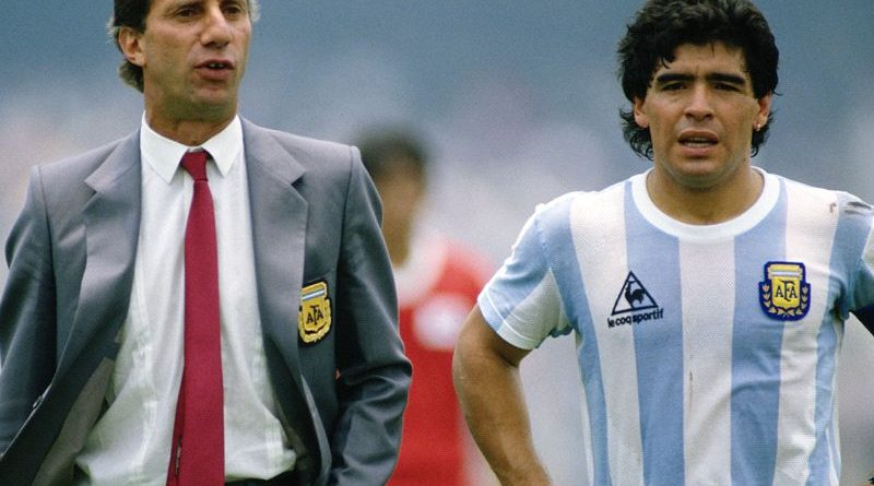 carlos bilardo was disconnected from the tv and lied so that he would not find out about maradona-s death