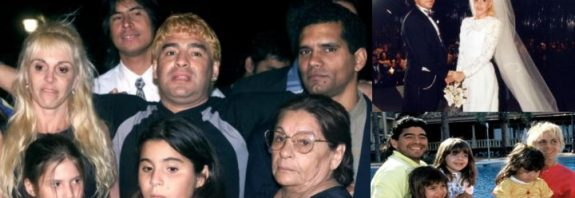Diego Maradona's Family & Kids: Fast Facts from accepting love child after 20 years to row with son-in-law Aguero