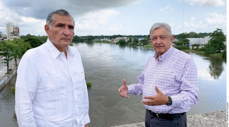 """""""I will never stop supporting my disgraced countrymen"""": AMLO in Tabasco"""