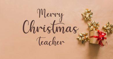 25 Merry Christmas Wishes for Teacher – Christmas 2020