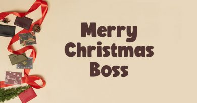 Merry Christmas Wishes for Boss (2020) – Christmas 2020