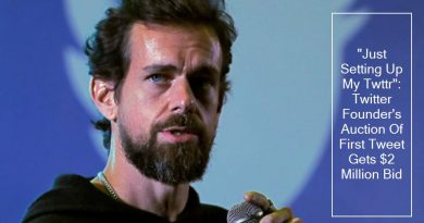 Just Setting Up My Twttr__ Twitter Founder Jack Dorsey Auction Of First Tweet G