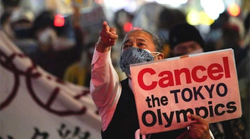 us issues japan travel warning weeks before olympics