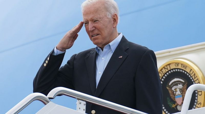biden warns russia against harmful activities at start of first official trip