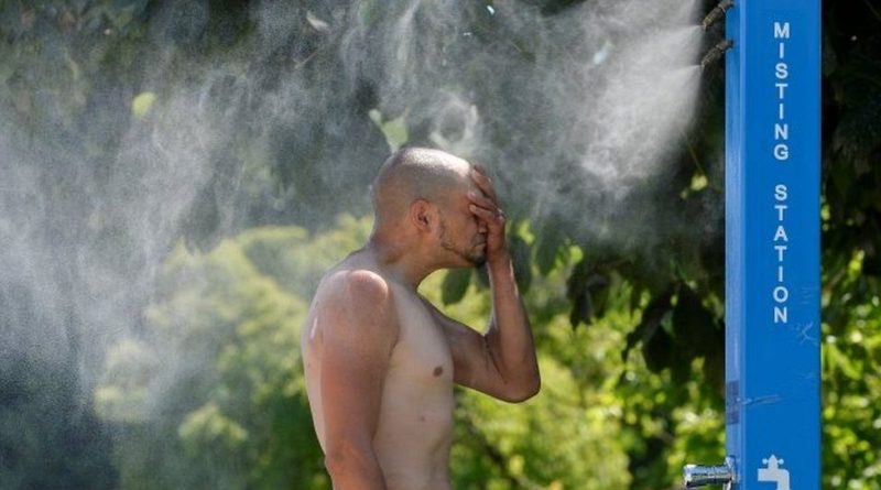 canada weather heatwave hits record 46.6c as us north west also frazzles
