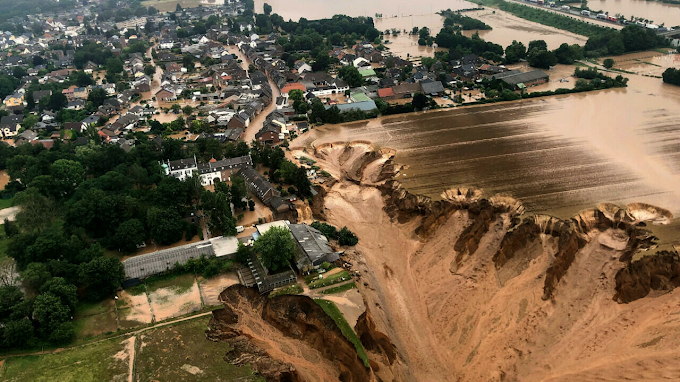 everything was under water in 15 minutes floods tear through germany