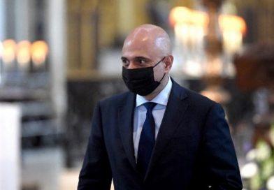uk health minister sajid javid tests positive for coronavirus